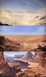 MadMax environment concept by Roiuky