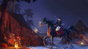 Fireflies and horse thieves