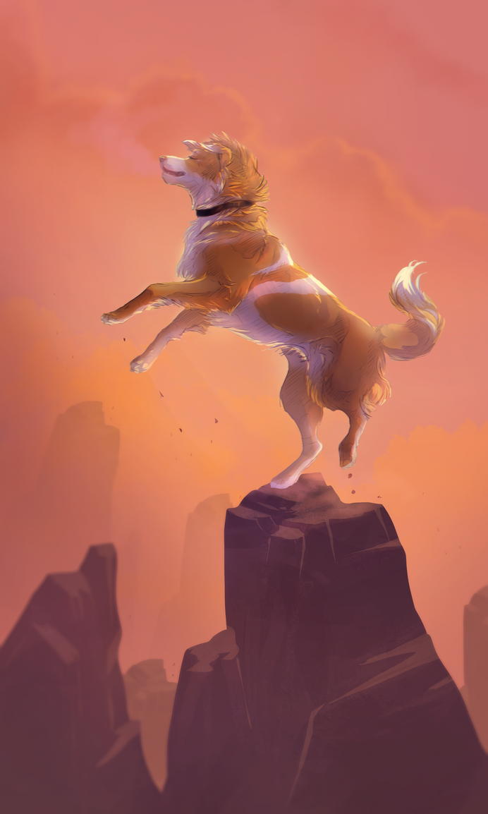 On top of the world by Roiuky