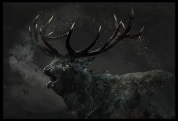 The Ravenstag by Roiuky