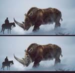 The Skull Rhinos of the north