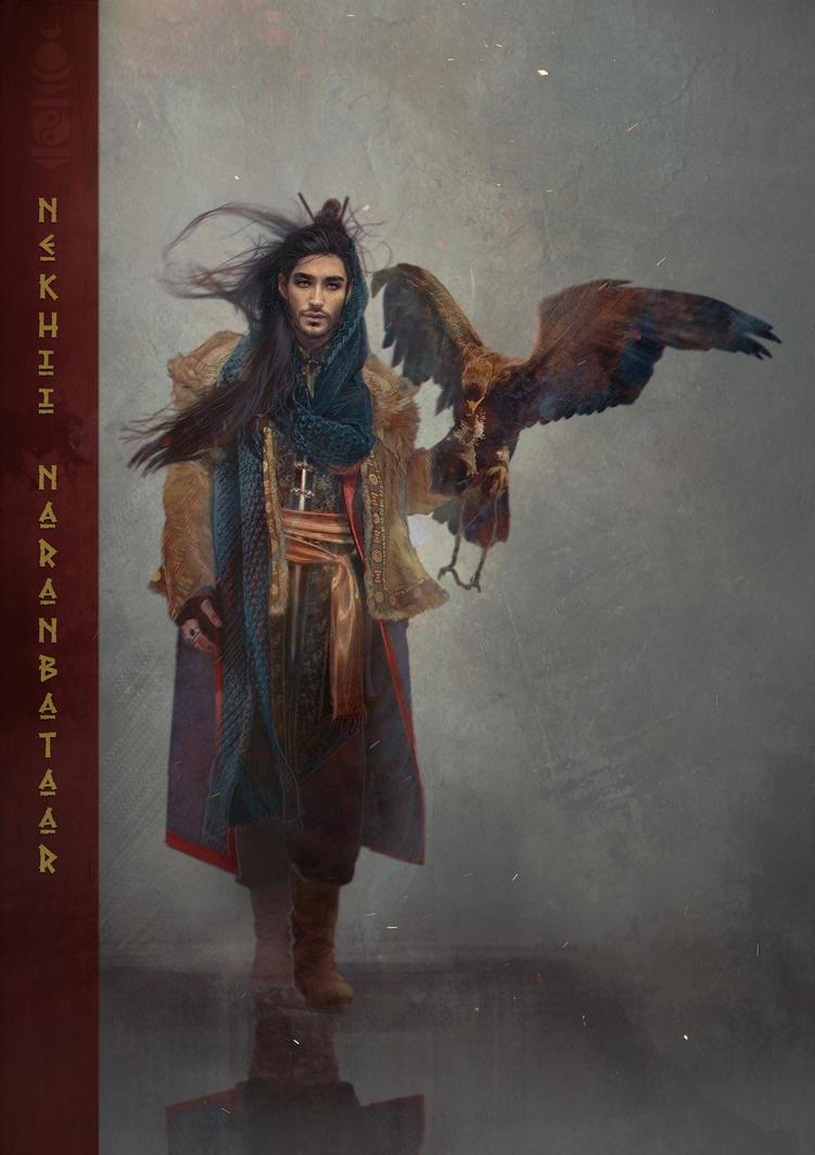 The Sheepskin man by Roiuky