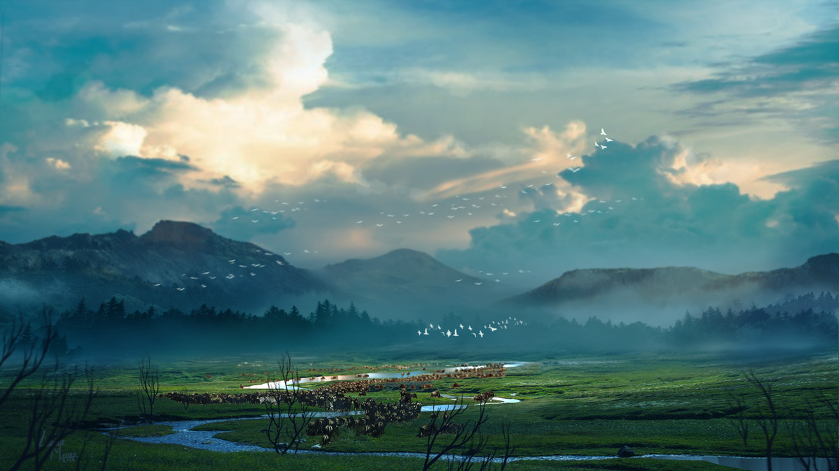 Migrations to the north by Roiuky