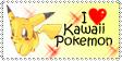 I love kawaii pokemon - Stamp by PokeHeart
