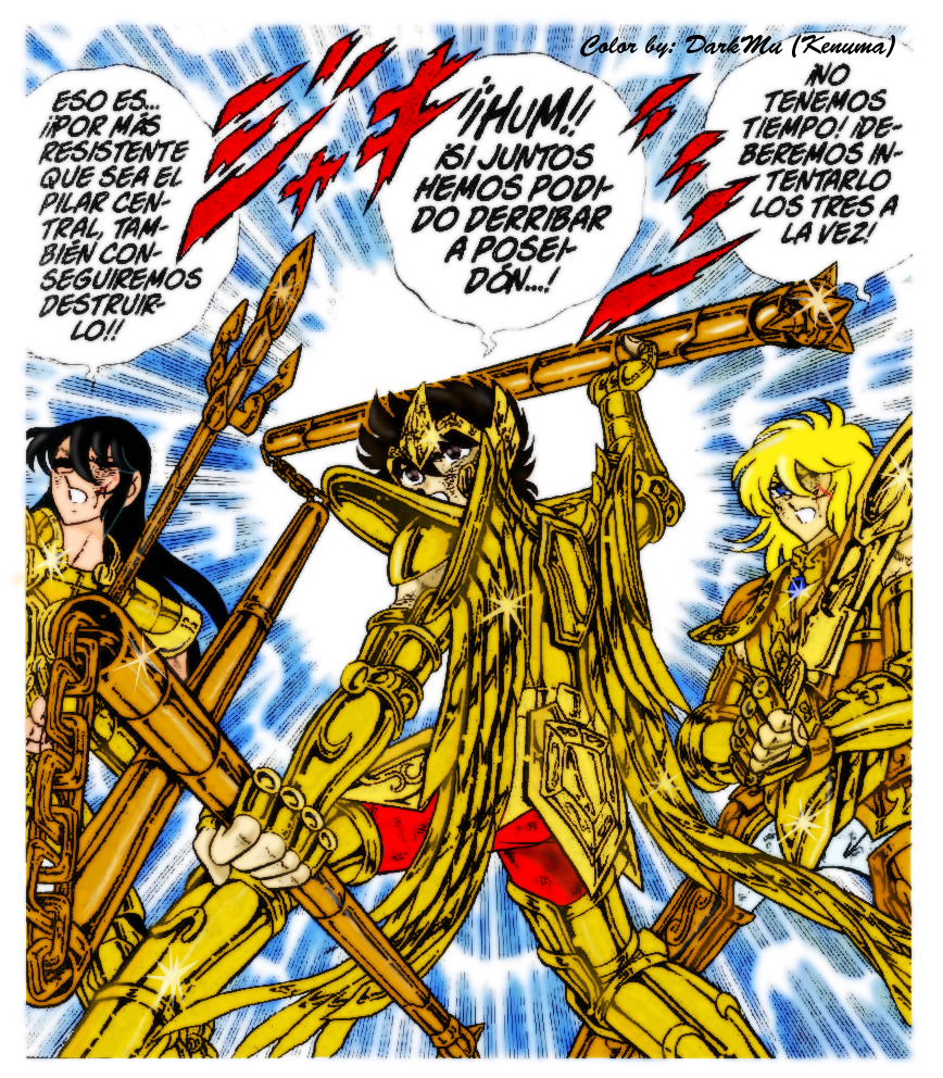 Saint Seiya: Manga By DarkMu On DeviantArt
