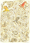 Three Octopus Maze