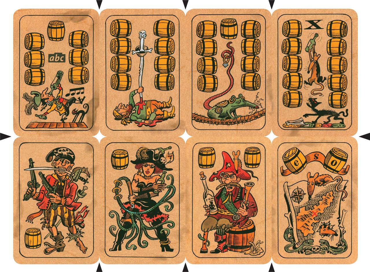 Nikolas Baeteman, prêt à prendre le large ! Pirate_Cards___Barrels_by_mourri