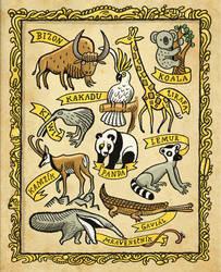 Wild Animals by mourri