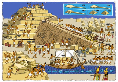 How to build an Egyptian pyramid