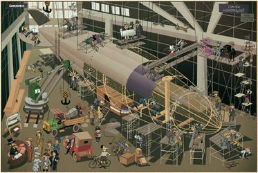 Zeppelin In Construction