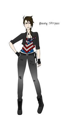 Killjoy OC: Blazing Stripes (Concept 1)