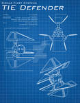 Star Wars Blueprints - TIE Defender
