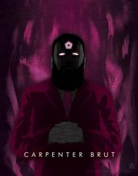 Synthwave Artist Portrait - Carpenter Brut