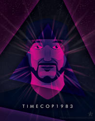 Synthwave Artist Portrait - Timecop1983