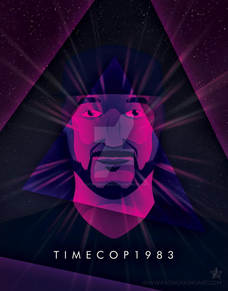 Synthwave Artist Portrait - Timecop1983 by patrickkingart
