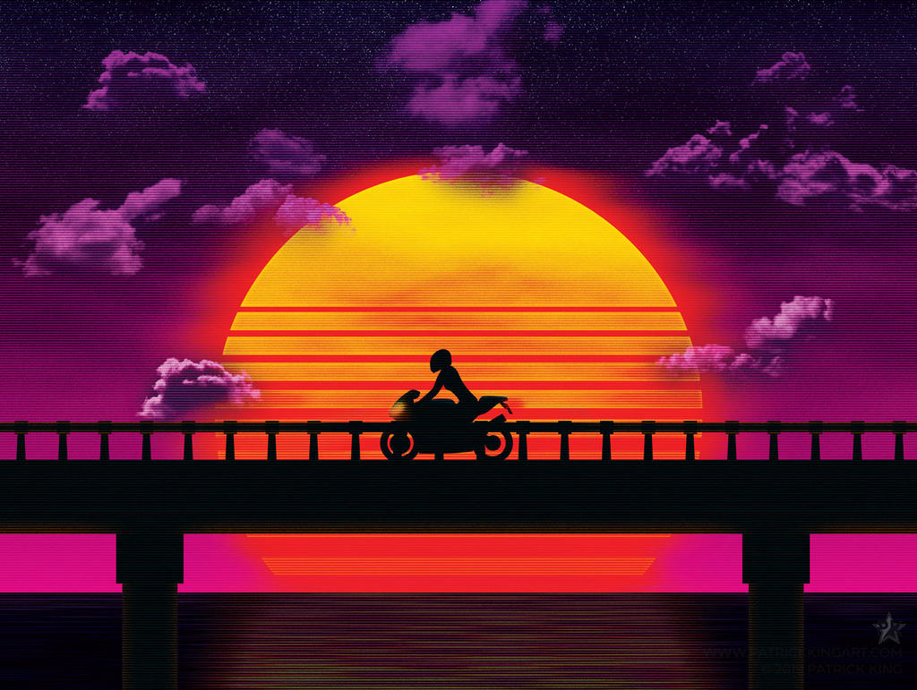 Causeway (Bike) by patrickkingart