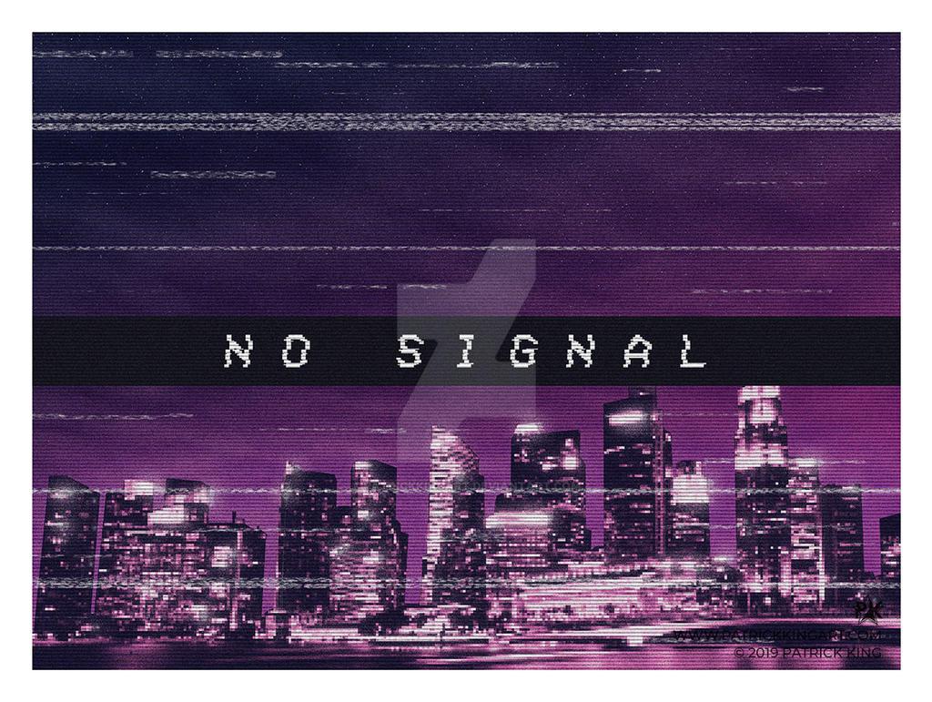 No Signal by patrickkingart