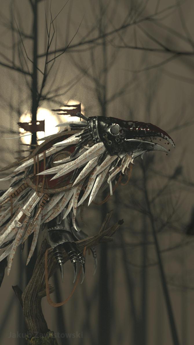 Metal Raven by jaqb19