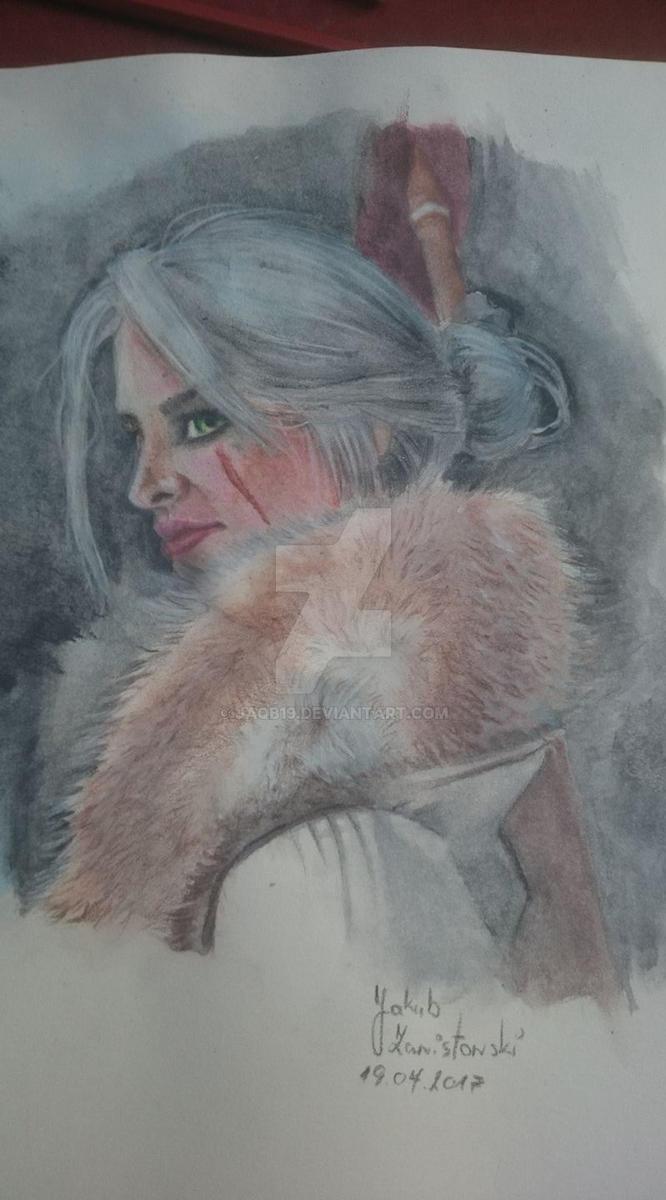 Cirilla Fiona Elen Riannon by jaqb19