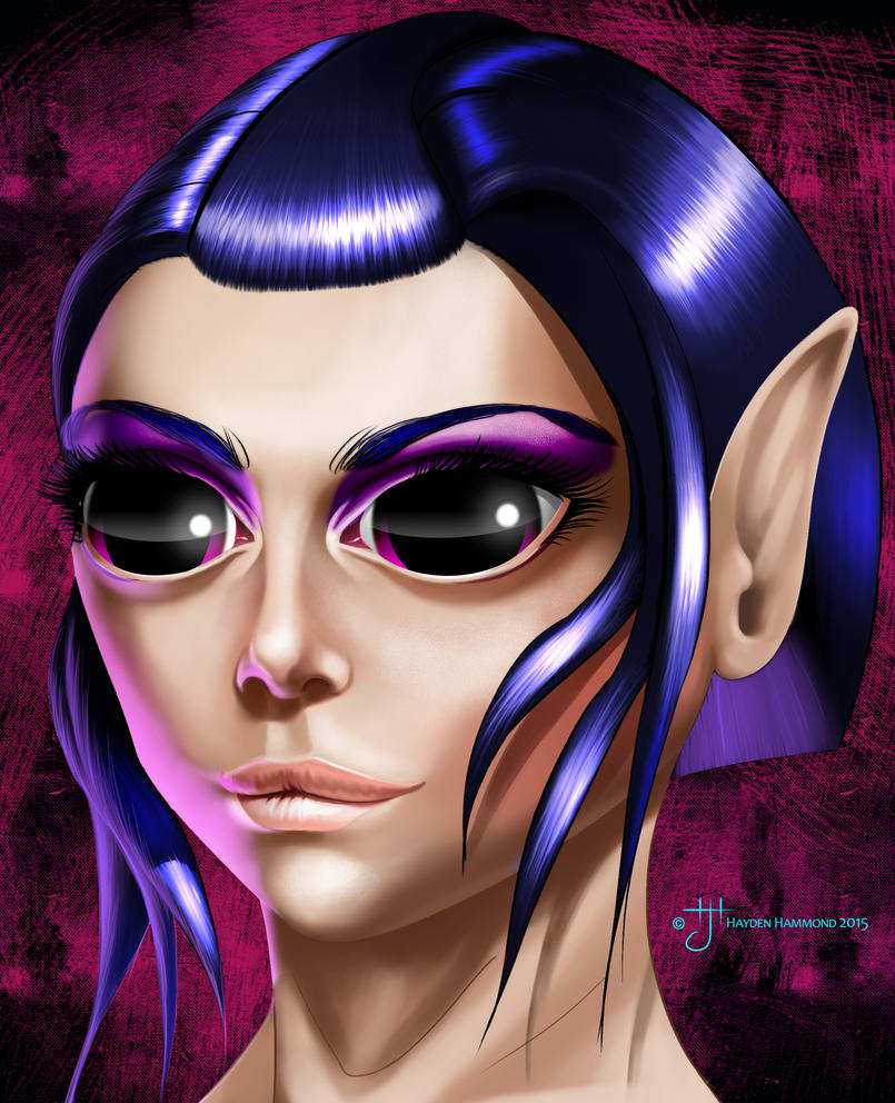 Elf Female - New by haydenhammond