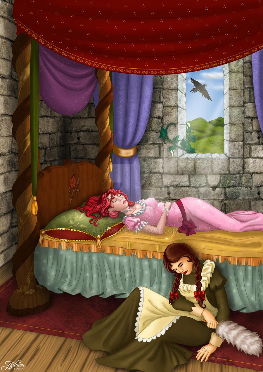 comm: Sleeping Beauty 06 by Ailinon