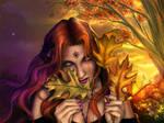 Autumn Bride by Ailinon