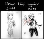 Draw This Again: My first heroine