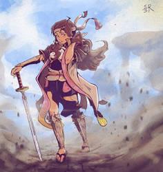 Fire Emblem Swordmaster Hana by Syuzaki
