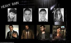 - Heavy Rain cast -