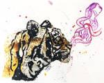 Smoke Tiger by Cloverperidot