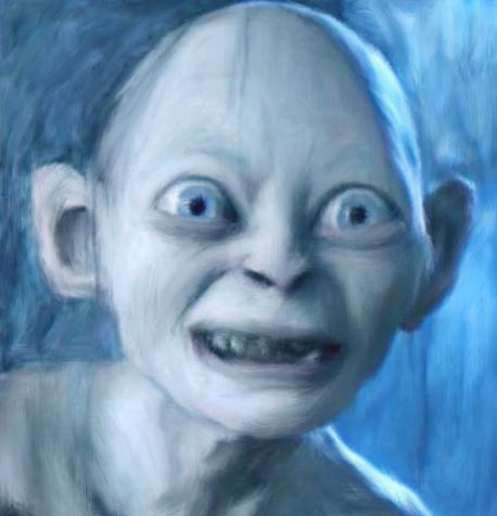 Gollum Smeagol Lord of the rings by Atticafinch on DeviantArt