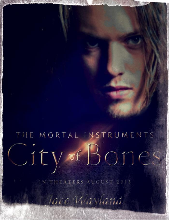 Mortal Instruments Jace Wayland movie poster by ...