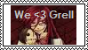 we love Grell stamp. by DontEatMySitar
