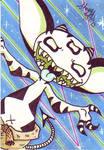 Taco's 90's background SketchCard