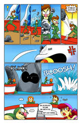 Wario's All Wet Page 18