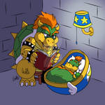 Bowser and Junior Bedtime Story