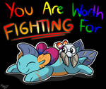 You Are Worth Fighting For- FYR Pride 2020