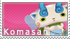 Komasan Stamp by SimlishBacon