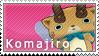Komajiro Stamp by SimlishBacon