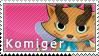 Komiger Stamp by SimlishBacon