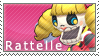 Rattelle Stamp by SimlishBacon