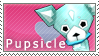 Pupsicle Stamp by SimlishBacon
