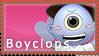 Boyclops Stamp