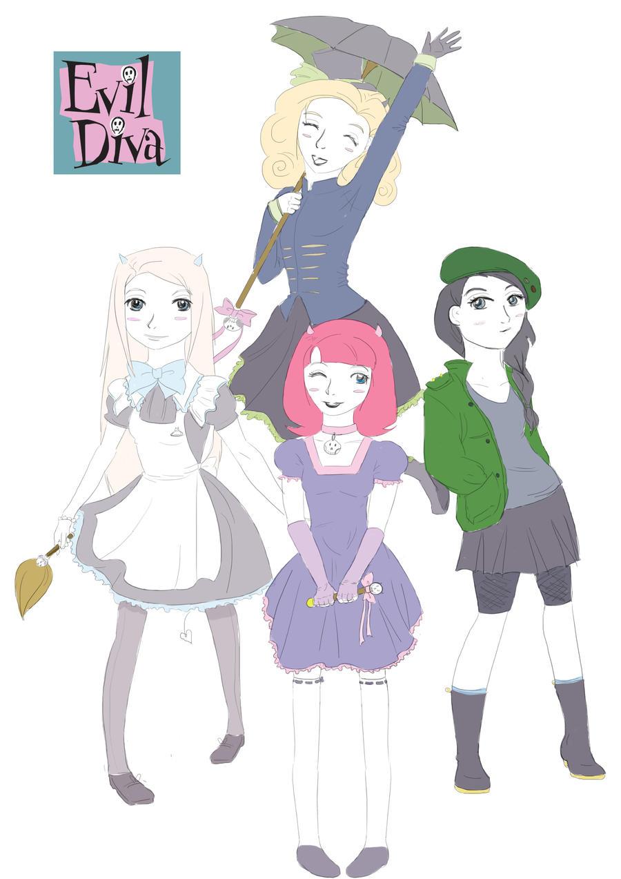 Evil diva - disguises by hoshi-kou