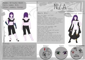 TTOC character sheet by hoshi-kou