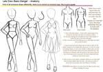 Basic manga anatomy tutorial