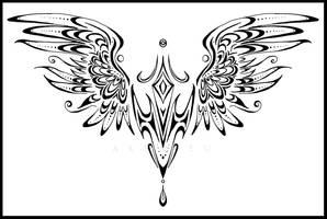 Tattoo: Wings by Ardnieu