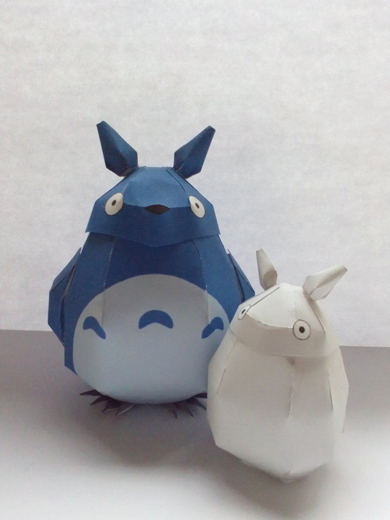 Totoros Friends by Nikakio