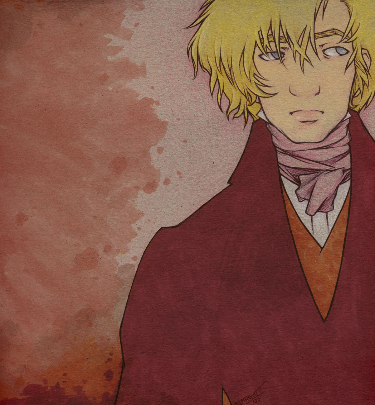 PrettyPrettyPrincess Enjolras by cillabub