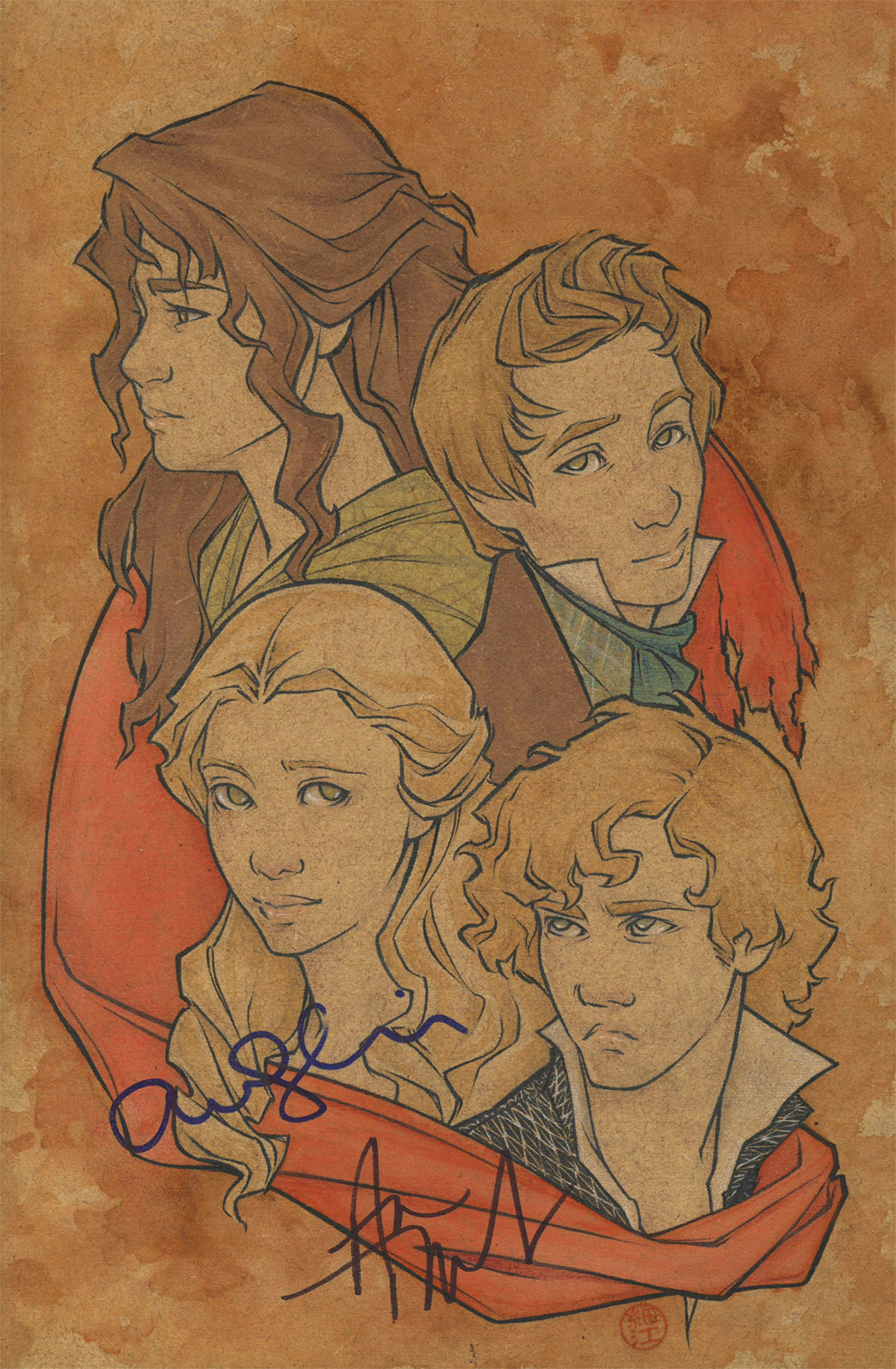 Quartet (autographed version) by cillabub